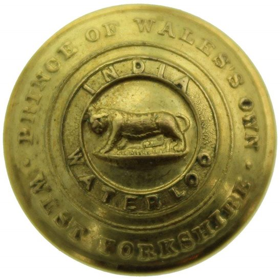 West Yorkshire West Yorkshire Regiment SMALL Tunic Button - 19mm