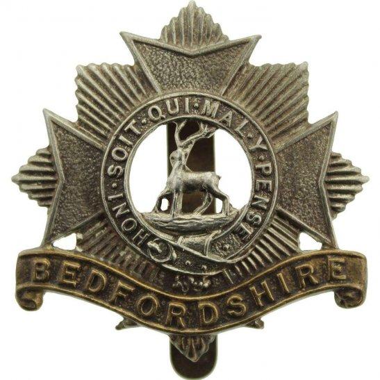 Bedfordshire Regiment WW1 Bedfordshire Regiment Cap Badge