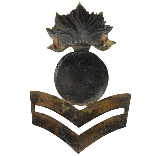 additional image for WW1 Royal Marine Artillery RMA Corps Corporal Rank Arm / Cap Badge