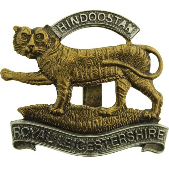 Leicestershire Regiment 1946-1952 Royal Leicestershire Regiment Cap Badge