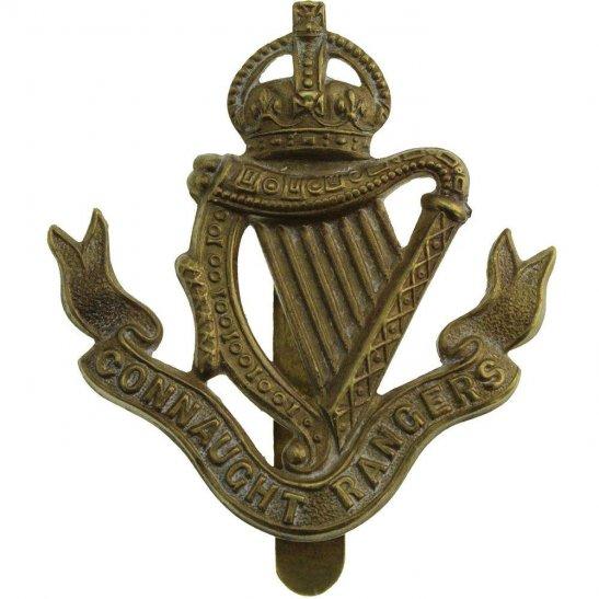 Connaught Rangers WW1 Connaught Rangers Regiment Irish Cap Badge