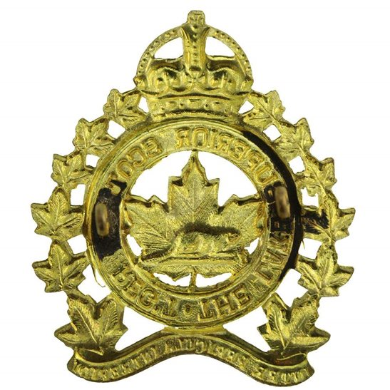 additional image for WW2 Canadian Lake Superior Scottish Regiment of Canada Cap Badge