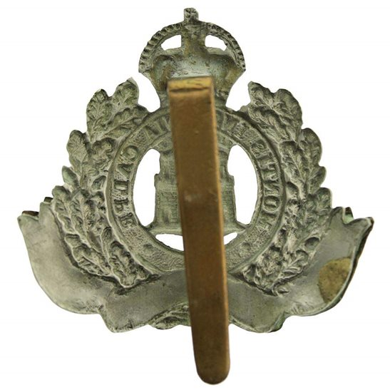additional image for WW2 Suffolk Regiment Cap Badge
