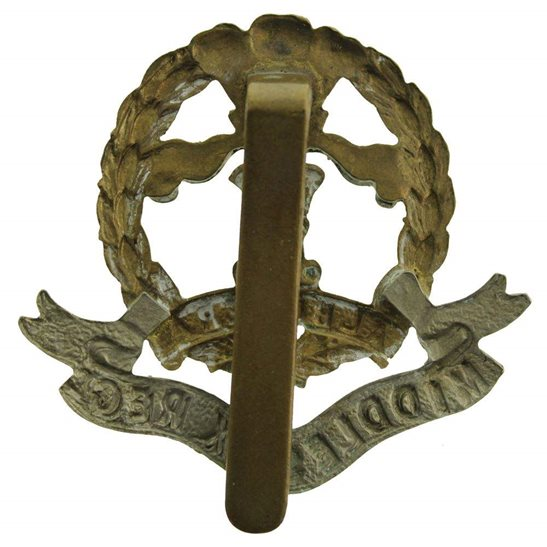 additional image for WW1 Middlesex Regiment Cap Badge