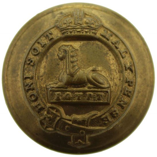 Manchester Regiment Manchester Regiment Tunic Button - 26mm
