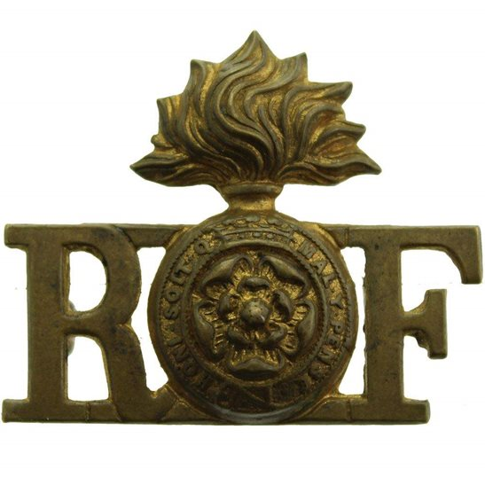 Royal London Fusiliers WW1 Royal London Fusiliers Regiment Shoulder Title