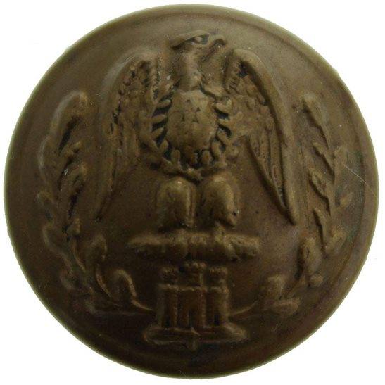 Essex Regiment WW1 The Essex Regiment SMALL Tunic Button - 19mm