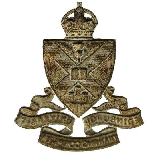 additional image for Edinburgh University Officers Training Corps OTC Cap Badge