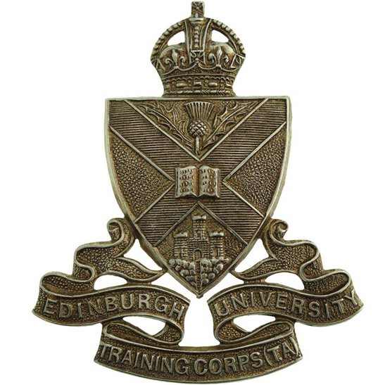 Officer Training Corps OTC Edinburgh University Officers Training Corps OTC Cap Badge
