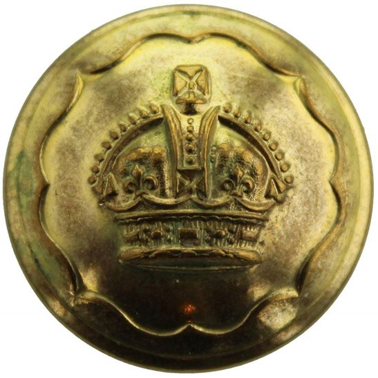 Ayrshire Yeomanry Ayrshire (Earl of Carrick's Own) Yeomanry Regiment Tunic Button - 26mm