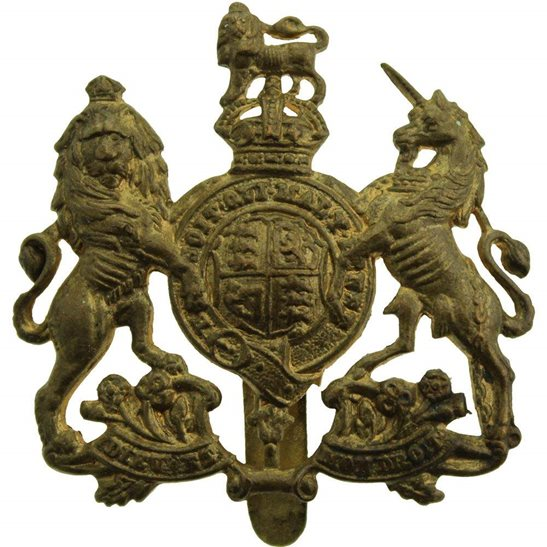 General Service Corps General Service Corps / Regiment Cap Badge