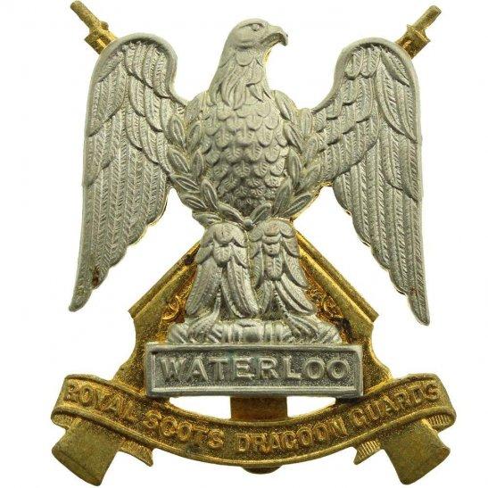 Royal Scots Dragoon Guards Royal Scots Dragoon Guards Regiment Cap Badge