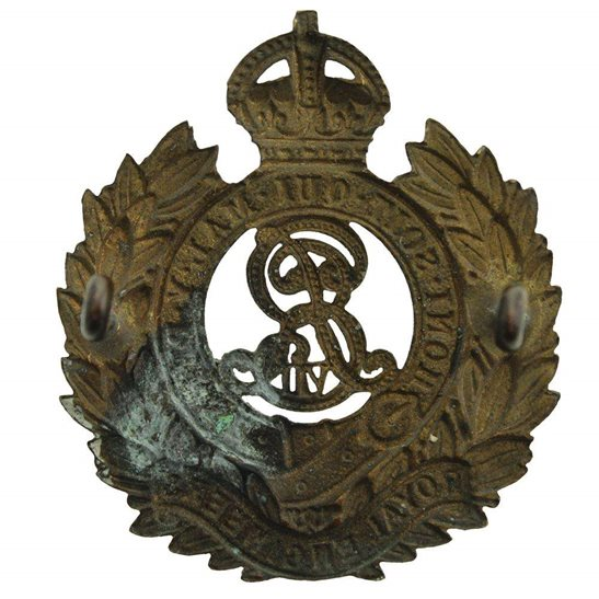 additional image for EDWARDIAN Royal Engineers Corps (Edward VII) Cap Badge