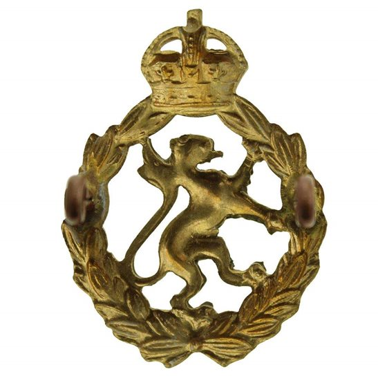 additional image for WW2 Womens Royal Army Corps WRAC Women's Cap Badge