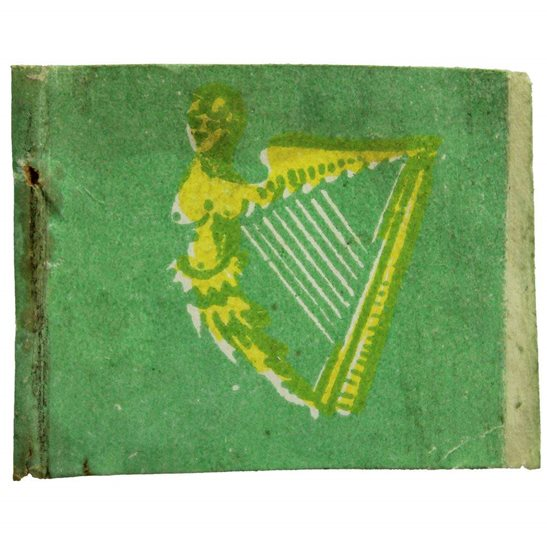 WW1 British Irish War Effort Ireland Flag Day Fundraising Pin Badge