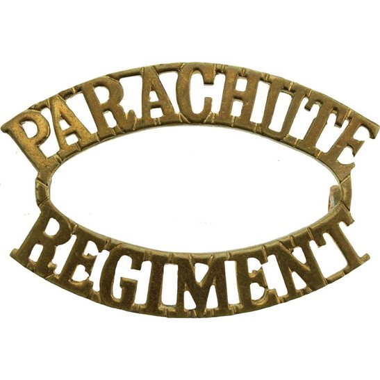 Parachute Regiment Parachute Regiment (Paras) Shoulder Title