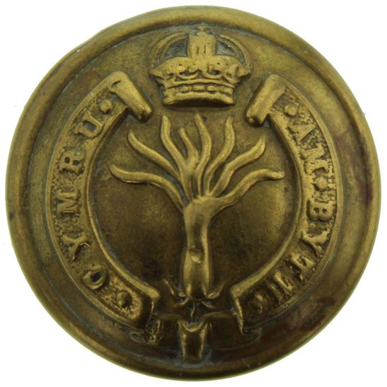Welsh Guards Welsh Guards Regiment (Welch) Tunic Button - 26mm
