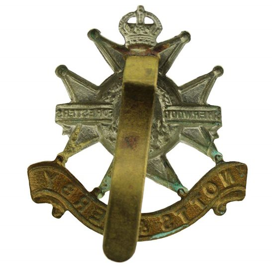 additional image for WW2 Sherwood Foresters (Notts and Derby) Regiment Cap Badge