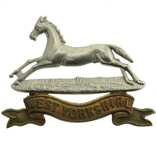 West Yorkshire VICTORIAN West Yorkshire Regiment Cap Badge - LUGS VERSION