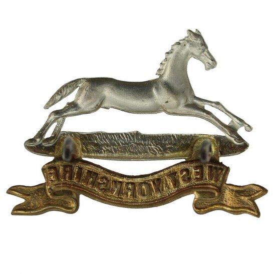 additional image for VICTORIAN West Yorkshire Regiment Cap Badge - LUGS VERSION