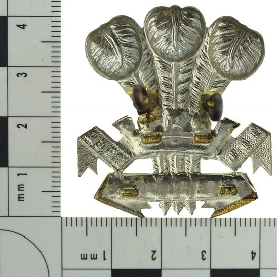 additional image for VICTORIAN / EDWARDIAN Leinster Regiment Irish Cap Badge - LUGS VERSION