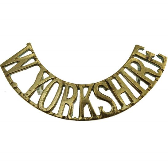 West Yorkshire WW1 West Yorkshire Regiment Shoulder Title