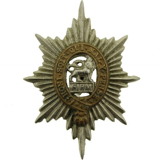 Worcestershire Regiment Collar Badge