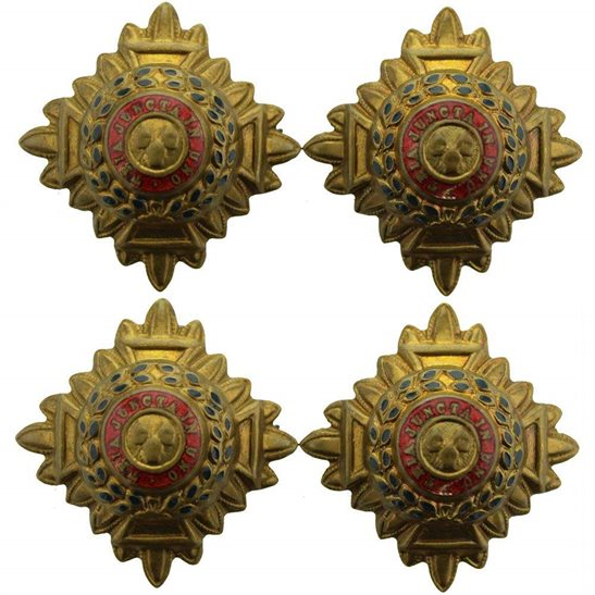 WW1 British Army Officers Insignia Pips - Rank of Lieutenant Set PAIR - 30mm