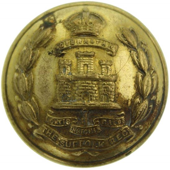 Suffolk Regiment Suffolk Regiment Tunic Button - 26mm