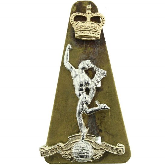 Royal Corps of Signals RCOS Royal Corps of Signals RCOS Staybrite Anodised Cap Badge - Staybright