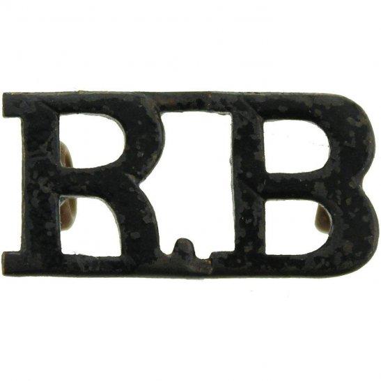 Rifle Brigade Rifle Brigade (Prince Consort's Own) Regiment Shoulder Title