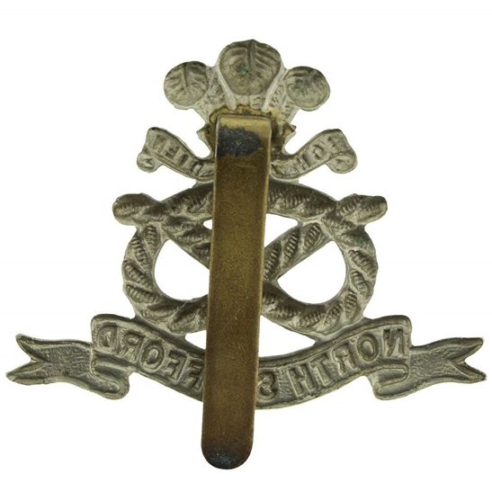 additional image for North Staffordshire (Stafford) Regiment Cap Badge