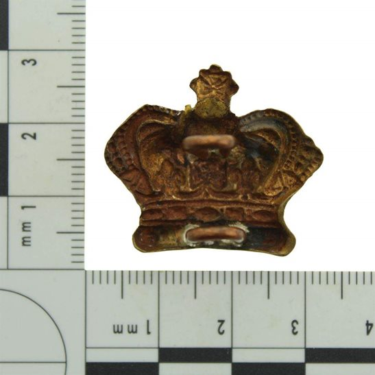 additional image for VICTORIAN Officers Insignia Queen Victoria Crown Pip- Rank of Major QVC