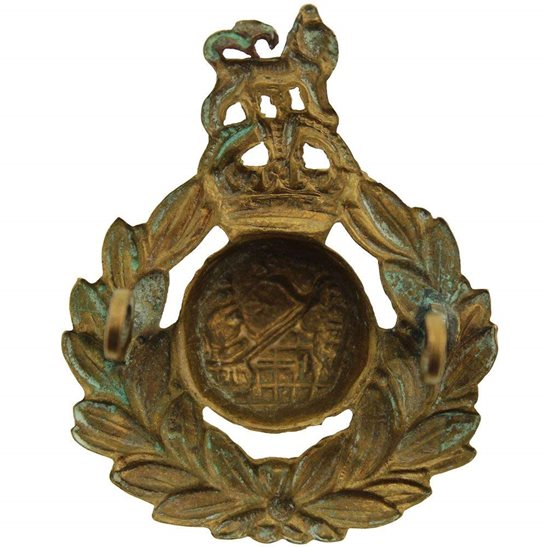 additional image for WW2 Royal Marines Corps Cap Badge