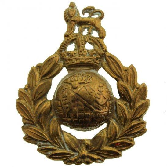 Royal Marines WW2 Royal Marines Corps Cap Badge