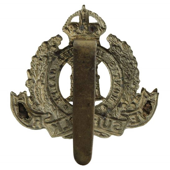 additional image for Suffolk Regiment Cap Badge