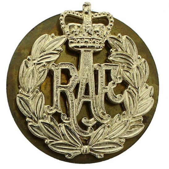 Royal Air Force RAF Royal Air Force RAF Staybrite Anodised Cap Badge - Staybright