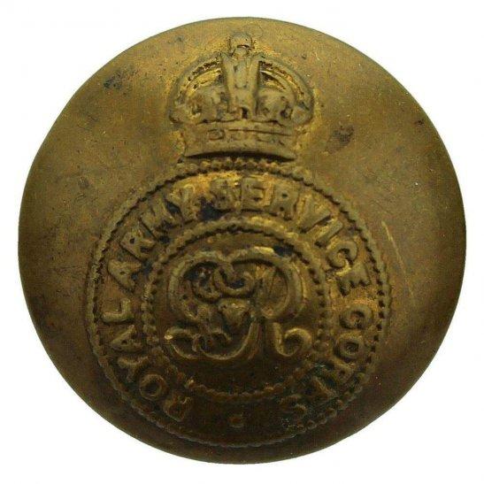 Royal Army Service Corps RASC WW1 Royal Army Service Corps RASC George V Tunic Button - 26mm