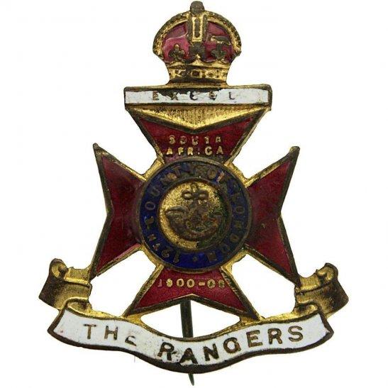 London Battalions 12th London Battalion The Rangers Regiment Sweetheart Brooch