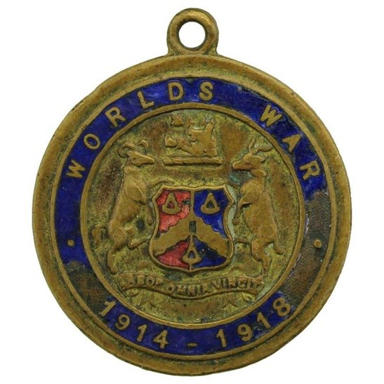 WW1 Bradford Traders 'My Father Fought' Medal War Fund Medallion Badge