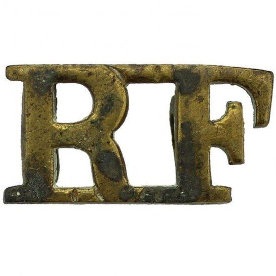 Royal London Fusiliers WW1 Royal London Fusiliers Regiment Shoulder Title