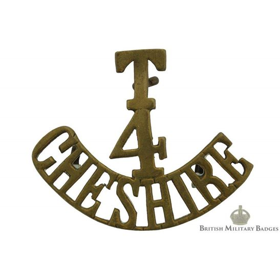 4th Territorial Battalion, Cheshire Regiment Shoulder Title