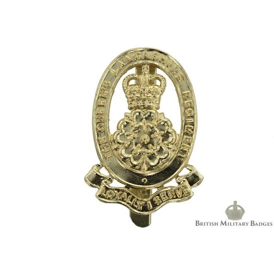 The Queen's Lancashire Regiment (Queens) Staybrite Cap Badge
