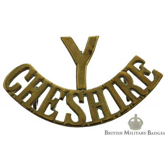 Cheshire Yeomanry Regiment Shoulder Title
