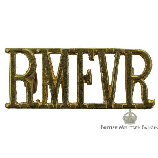 Royal Marines Force Volunteer Reserve RMFVR Shoulder Title