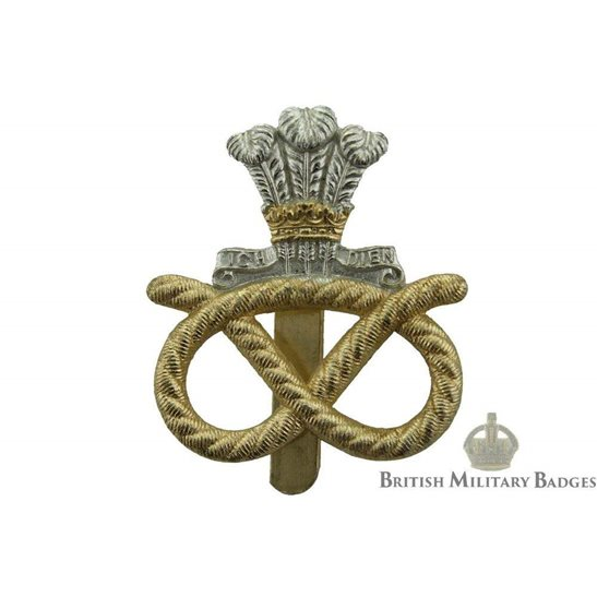 Staffordshire Regiment Staybrite Cap Badge