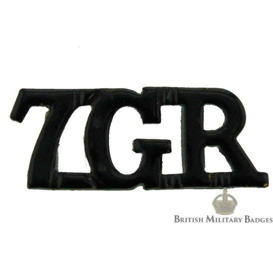 7th Gurkha Rifles Regiment Shoulder Title