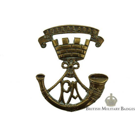 Somerset Light Infantry Regiment SLI Collar Badge