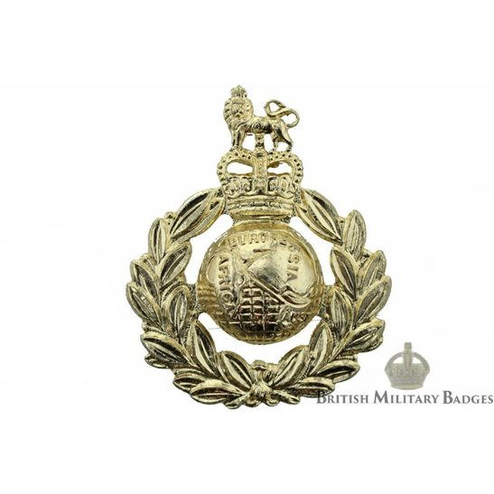 Royal Marines Corps Staybrite Cap Badge