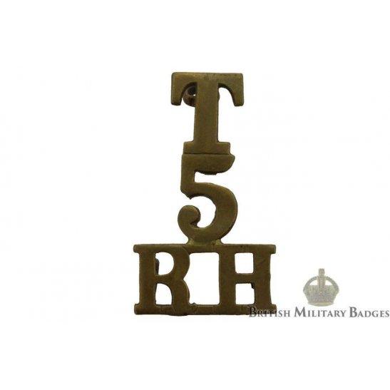 5th Territorial Battalion, Royal Highland (Black Watch) Regiment Shoulder Title